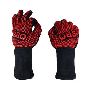Luxury-Practical Mitts Hot Bbq Grilling Cooking - 932f Multi-purpose Extreme Heat Resistant Oven Gloves