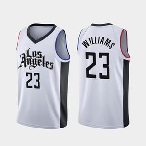 Ücretsiz Kargo 2021 Yeni Basketbol Forması City 23 Williams Renk Beyaz Boyutu S-XXL