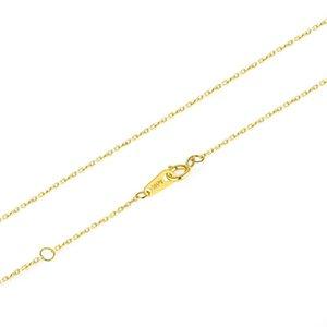 Metjakt 14 K Altın O-Zincir Moda Tüm Maç Bayanlar Kolye