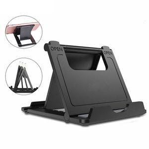 Universal Foldstand einstellbar Telefon Tablet-Tischhalter-Ständer Faltbare Halterung für iPhone iPad Samsung Tablet Smartphone-Halterung Multi Color