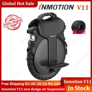 Inmotion V11 외발 자전거 에어 서스펜션 84V 2200W 1500Wh 자기 균형 스쿠터 전기 빌드 핸들 MonowHeel Hoverboard