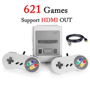 New US EU UK AU Mini TV Game Console ABS Plastic Retro Game Controller 621 HD Dual Line Family TV Video Consoles