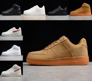 Vendita A buon mercato nuovo 1 Dunk Men Donne Flyline Scarpe da corsa, Sport Skateboard Shateboard Shoes Sneakers Taglio Bianco Black Sneakers