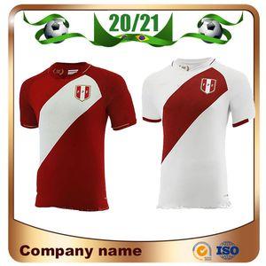 2010 Perù Soccer Jersey 20/21 Perù Home Red Away Black National National Team Soccer Camicia Guerrero Farfan Flores Football Uniform