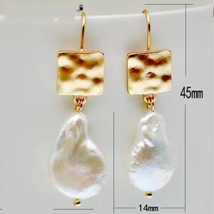 Natürliche Ohrringe Sondergeformte Einfachheit Mode Temperament Baumeln Neue Drop Frau Mode Ohr Anhänger Zubehör 6 Rate K2