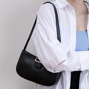 Mode Retro-Umhängetasche für Frauen Schwarz Small Square Taschen beiläufige wilde Handtaschen-Handtasche-kühle Mädchen Achseltasche Einzigartige Design-