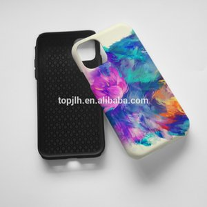 Mobile Phone Case for iPhone 11, Back 3D Phone Case personalized 2 in 1 sublimation case