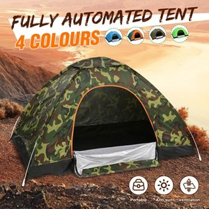 Foldable Waterproof Single-door Free-to-build Automatic Quick-opening Outdoor Travel Camping Tent Beach Sun Shelter 4 Colors Z1123