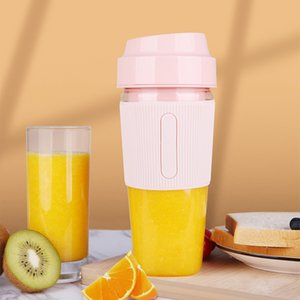 USB Wireless Juicer 300ml Portable Electric Blender Multi Purpose Wireless Mini USB Rechargeable Juice Cup Fruit Mixer For Trip Y1201