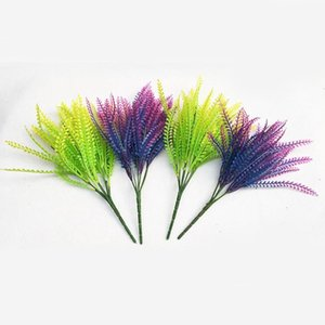 1Pcs Artificial Flower Leaves Plants Pretty Fake Lifelike Plastic Persian Grass Lysimachia Fern Floral Decoration