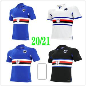 2020 2021 Sampdoria Jerseys de futebol Murillo Linetty Jankto Yoshida Maroni Gabbiadini Personalizado 20 21 UC Sampdoria Home Away Terceira Camisa de Futebol