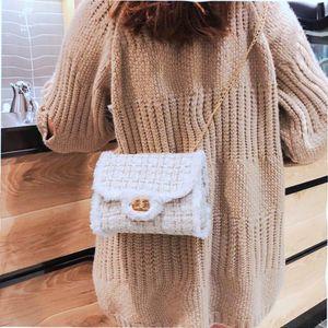 Women Handbags Bags Designer Brand Bag Fashion Crossbody Ladies Weaving Shoulder Top Purse Messenger Handle Chain Wrste