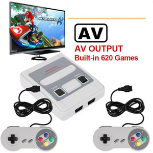 620 Games In 1 Mini Classic Game Console For SFC Retro TV Gamepads For Console Handheld Gaming Player Christmas Gift