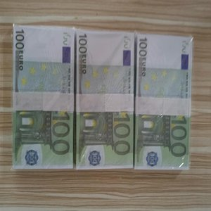Euros Most Realistic Prop money Euro100 Fake play Money copy banknote movie money Bar Party Games Z677