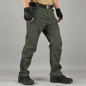 X7 Tactical Trousers Men's Overalls Spring Autumn Wear-Resistant Plus Size Training Pants Multi-Pocket Pant