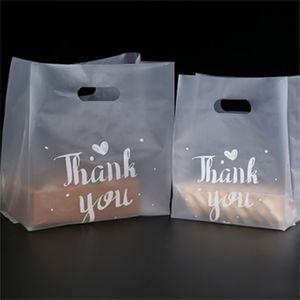 شكرا لك الغذاء هدية التفاف البلاستيك رشاقته 3 أحجام الخبز الخبز كعكة الحلوى التعبئة حقيبة عيد الميلاد هدايا عيد الأزياء 37 38gy L2