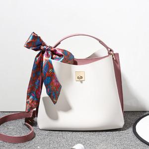 Designer-High Quality Women PU Leather Messenger Bag Fashion Ladies Shoulder Bucket Bag Designer Small Female Crossbody Bags