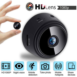 A9 Mini Camera 4K Full HD 1080P Cam APP 150 Degree Viewing Angle Mobile Video Wireless WiFi IP Network Monitor Security Night Version Cam