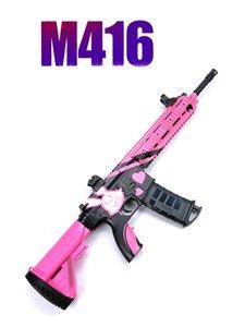 M416 انفجار كهربائي قنبلة المياه التلقائي للأطفال لعبة بندقية في الهواء الطلق الكريستال قنبلة لعبة الرماية بندقية الأطفال هدية Y1118