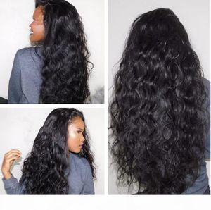 Cosplay Black Kinky Burly Synthetic Perruques Résistant à la chaleur Cheveux de Freetress Afro Kinky Curly Synthetic Dentelle Dentelle Perruque avant pour femmes FZP83