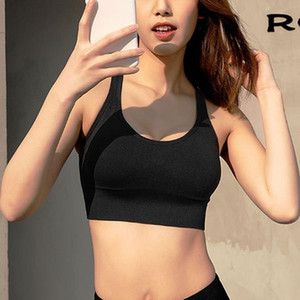 Sports Bra for Women Running Workout Back Zipper Sports Bra with Removable Padded TY66