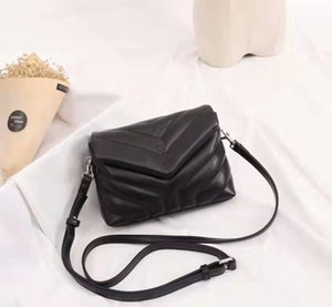 Quilted Luxury Handbags LOULOU Y-shaped For Designer Leather Women Flap Chain Shoulder Bag H Quality Bag Colour Multiple Real Bags 20cm Wjwe