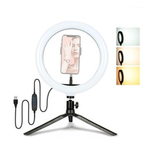 26cm Lamp Live Video1 Makeup Light Mini phone Photography Camera Selfie with for Tripod Stand Photo LED Studio for Ring Dimmable Aivwo