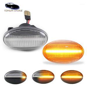 2 adet LED Yan Dönüş Sinyal Göstergesi Smart W450 W452 Için Dinamik Işıkları Lambaları W415 W168 Vito W639 W447 Oto Lambaları1