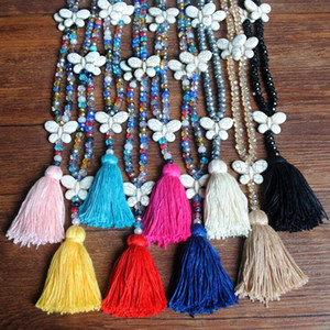 semi precious stone african bead jewelry set beaded necklace jewellery african long necklace design for woman