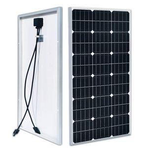 100W 12V Solar Panel 18v Photovoltaic power Storage Battery Charging for RV ships houses street light etc new product
