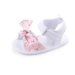 MAYA STEPAN 1 Pair Children Baby Kids Boys Girls Shoes Non-Slip Canvas Bowknot Toddlers Newborn Infantil Sandals