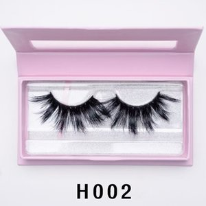 New 27mm 3D Mink Lashes Dramatic False Eyelashes Volume Eyelash Extensions Beaver Thick Eyelash Natural Long Eyelashes Beauty