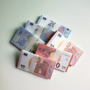 Euro di alta qualità Prop money Faux Billet 10/20 EUR Bills Fake Play Soldi 100pcs / Pack Spedizione gratuita