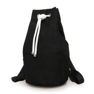 NEW-Fashion Men's Fitness Sports Basketball Football Bag Leisure Rucksack Travel Backpack Drawstring Bucket Bag