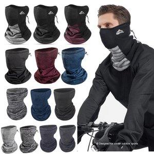 2020 Winter Neue Winddichte Radschal Outdoor Laufen Fahrrad Gesicht Maske Stirnbänder Männer Frauen Fahrrad Bandana Reiten Warme Schal