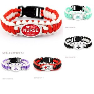 Charm Bracelets CustomI Am An Paracord Survival Gifts For Tough Red Cross Girls Save Lives Friendship Womens Ladies Bracelets1