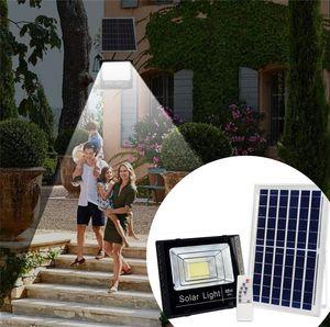 40W 60W 100W Solar Led Outdoor Lighting Waterproof IP67 Solar Flood Light Aluminum Outdoor Garden Garage Led Solar Lamp