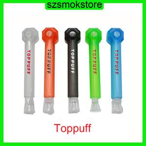 Topppoff أعلى نفخة أكريليك بونغ المحمولة برغي على أنابيب المياه الزجاج الشيشة تدخين التبغ عشب حامل لحظة المسمار النرجيلة FreeDHL 0266249