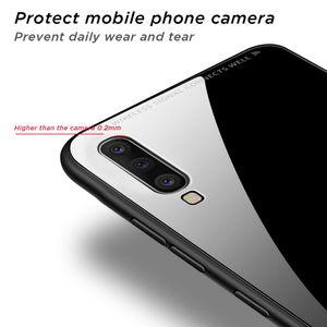 Tempered Glass Case For Samsung Galaxy A50 A70 A30 A60 A10 A40 For Galaxy S10 S9 S8 Plus S10e A7 A9 2018 jllAJV