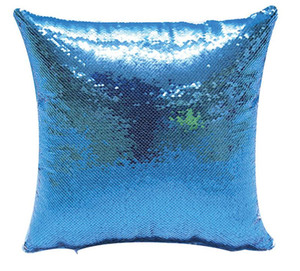 Styles Sublimation Blank Sequin Pillow Cover High Quality Fashion And Simple Pillow Case Decoration Wide Applicability Home fast ship