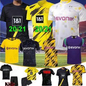NCAA Borussia Dortmund 17 HAALAND REYNA 110th Soccer Jersey 19 20 21 HAZARD GOTZE REUS WITSEL Jersey PACO ALCACER Football Shirt MEN Thai