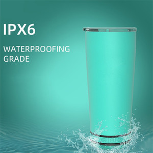 Portable Bottle Music Healthy Multi Color Easy Bluetooth Waterproof Stainless Steel Tumblers Sound Water Cup Outdoors 62xr K2