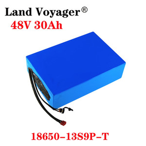 48V battery 48V 30AH Lithium Battery Pack 48V 30AH 500W 800W 2000W electric bicycle battery Built in 30A 50A BMS US EU NO Tax