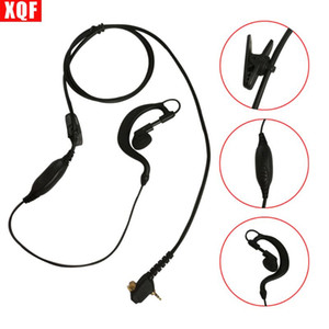 XQF 10PCS Earpiece PHeadset Mic for Motorola Tetra Two Way Radio MTH800 MTP850 MTH600 MTH650 MTH850 WalkieTalkie