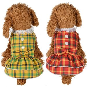 Dog Clothes For Small Dogs chihuahua t shirts women pet clothes dog clothing in Dog Dresses ropa perros TY2441