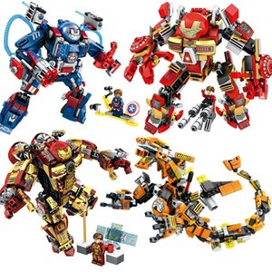 War Machine Building Blocks Avenger Infinity War Superheroes Children Kids Boys Toys Gifts Super Heroes Block Toy