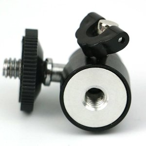 Hot-selling 1 4 Hot Shoe Adapter Swing Basketball Head, With Lock, For Camera Tripod Led Light Flash Bracket Mount
