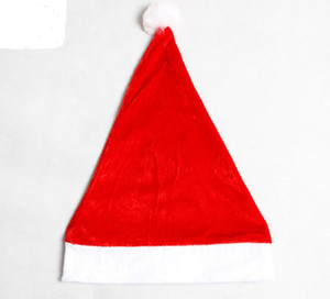 Adult Xmas Red Cap Santa Novelty Hat for Christmas Children Party Hat Women Men Boys Girls Cap for Christmas Party Props SN2105