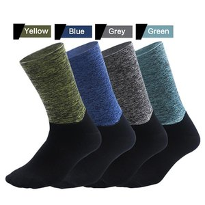 Cycling Socks Silicone Anti Slip Thick Warm Splicing Ankle Sport Socks for Outdoor Running Hiking Basketball