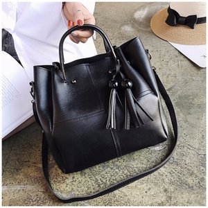 LANZHIXIN Designer Bags Famous Brand Women Bags 2020 Stylish Single-shoulder Messenger Bag Lady's Three-piece Bag with Tassels
